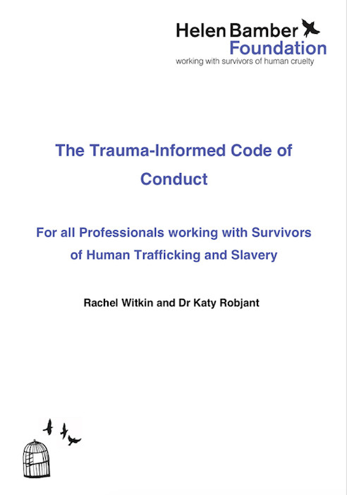 The Trauma-Informed Code of Conduct (Helen Bamber Foundation 2018)